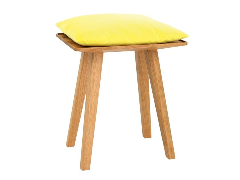 Solid wood stool NINI - Schönbuch