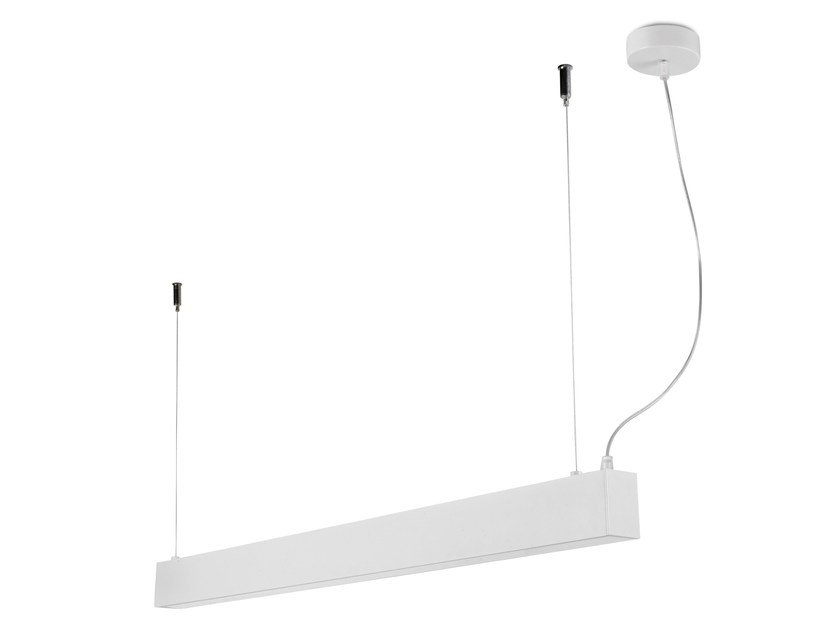 Lampada a sospensione a LED in alluminio con dimmer NIT UPDOWN - LED BCN Lighting Solutions