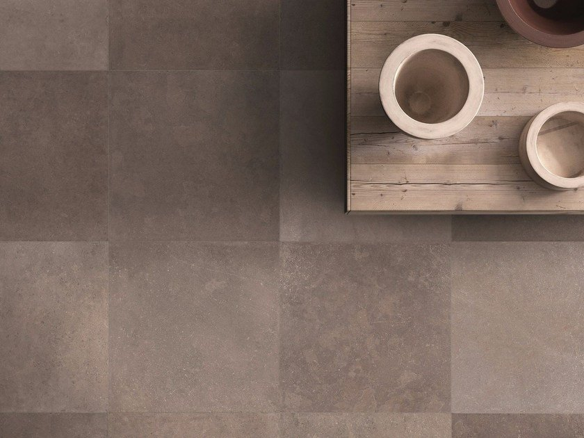 Porcelain stoneware wall/floor tiles NO_W by Flaviker