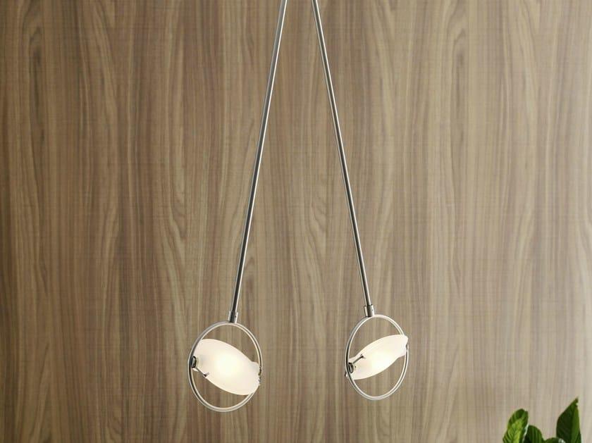 Adjustable pendant lamp NOBI 2 | Pendant lamp - FontanaArte