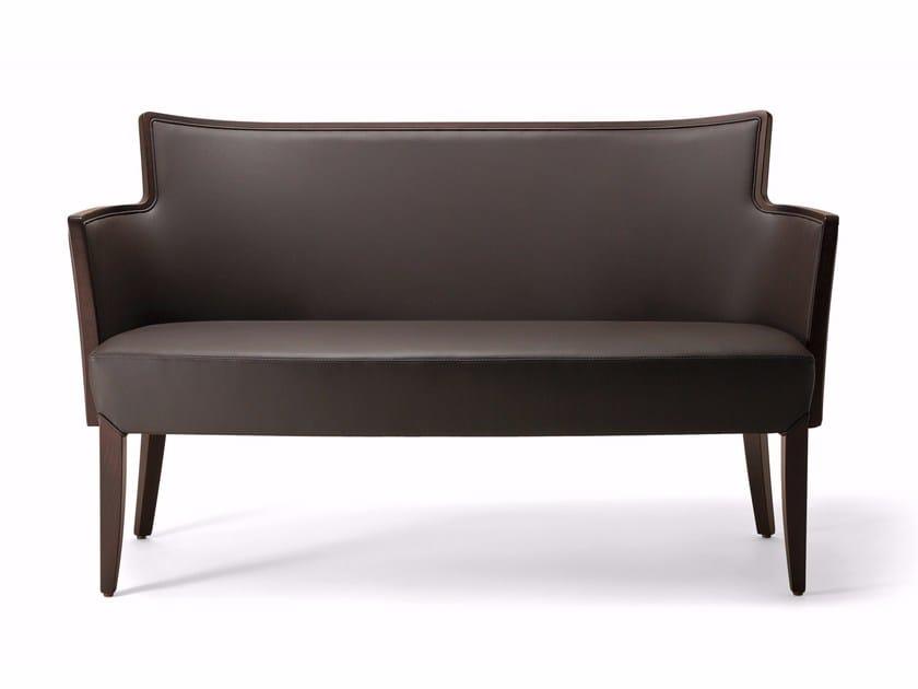 Wooden small sofa NOBILIS | Small sofa - Varaschin