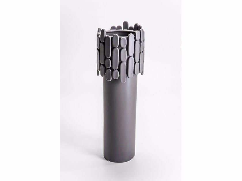 Vase NOBLE BRICK GREY - KARE-DESIGN