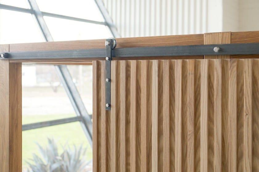 Porta scorrevole in legno nodoo porta scorrevole nodoo - Guida porte scorrevoli ...