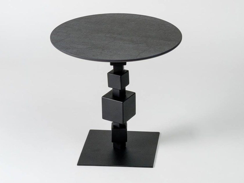 Round coffee table NOLITA | Laminam® coffee table by Elli Design