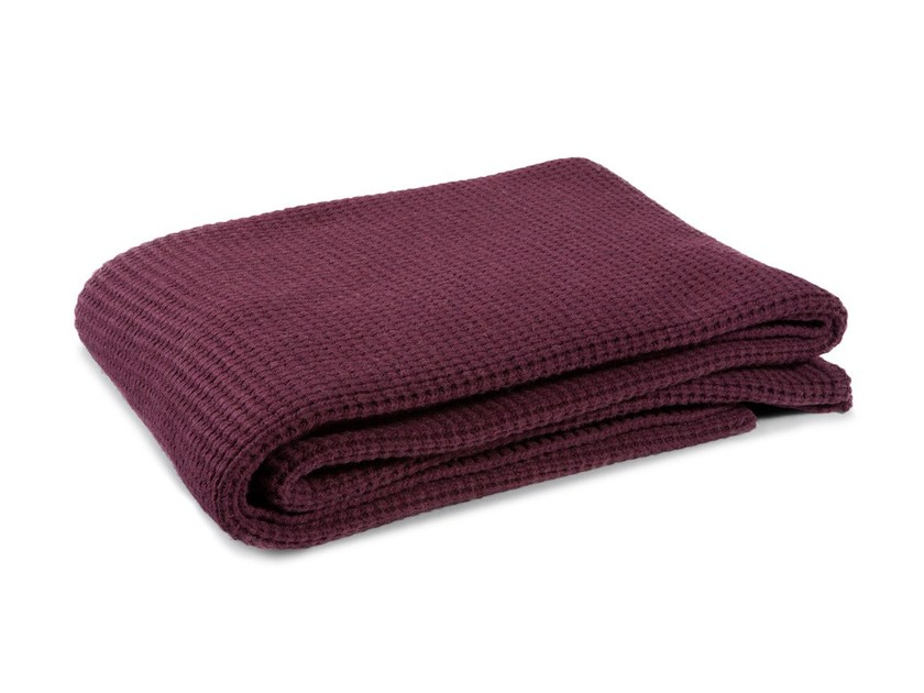 Solid-color wool blanket NODOMAGLIA by Atipico
