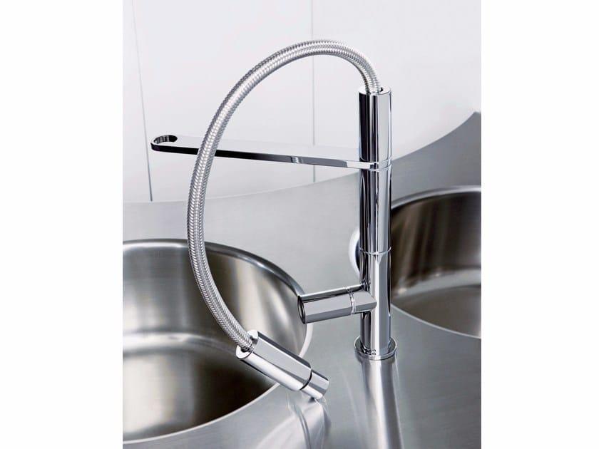 Chromed brass washbasin mixer NOMOS | Washbasin mixer - FIMA Carlo Frattini
