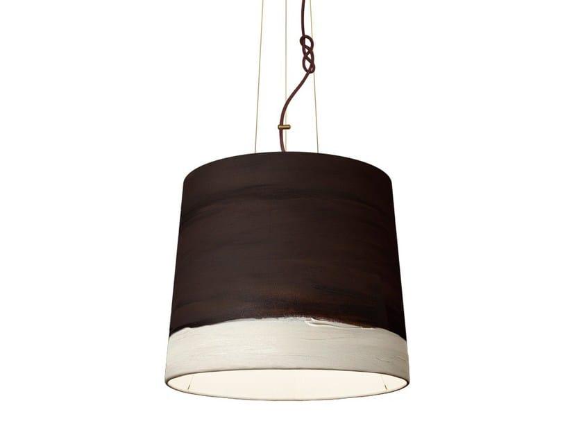 Handmade fabric pendant lamp NOON   Pendant lamp - Mammalampa