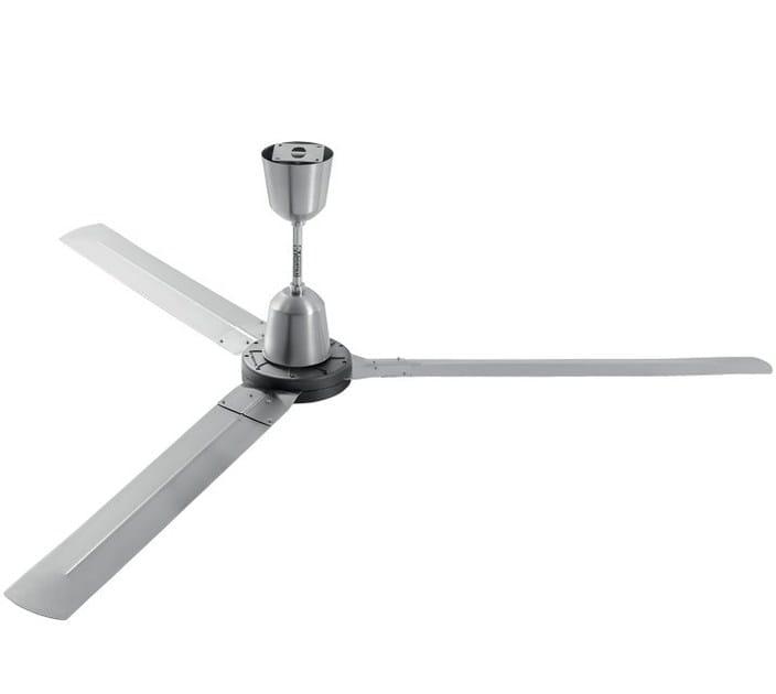 ventilatore da soffitto industriale reversibile nordik heavy duty