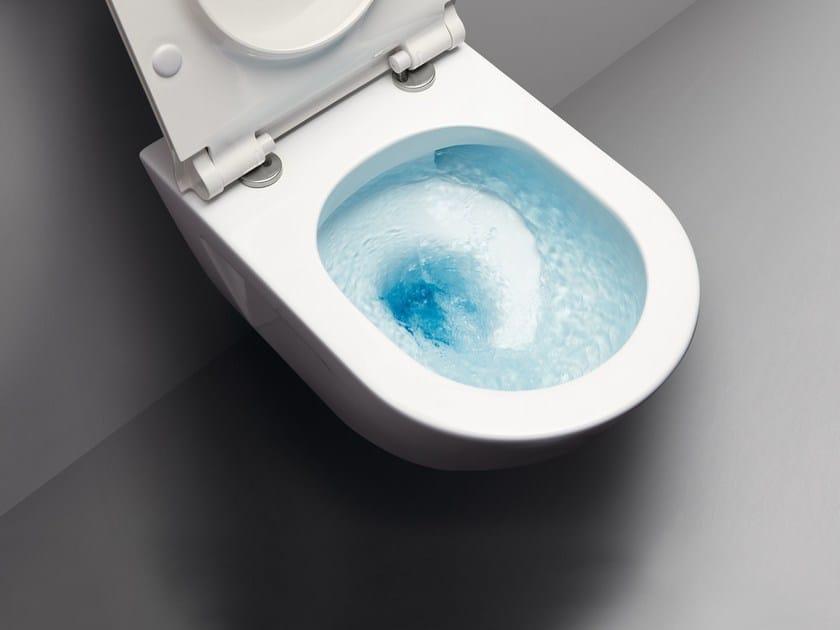 Wall-hung ceramic toilet NORM 55F | Wall-hung toilet - GSI ceramica