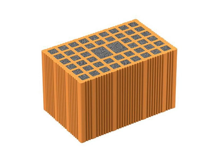 Thermal insulating clay block NORMABLOK PIÙ - Latercom