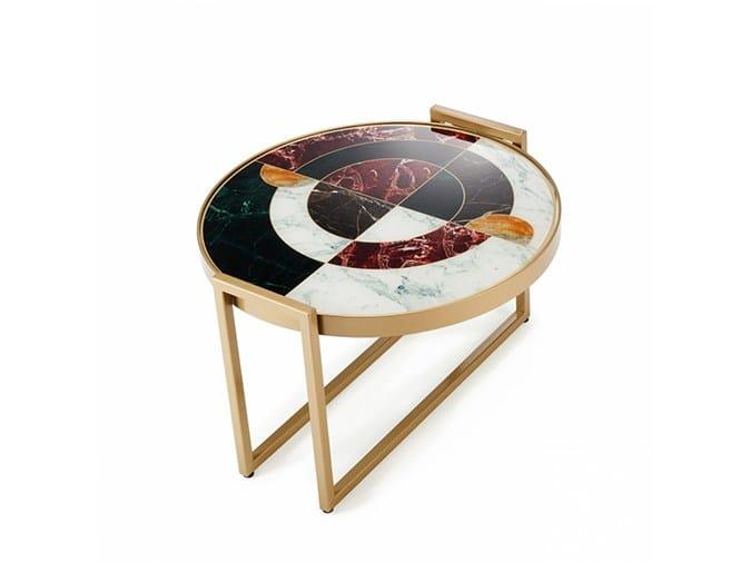 Tavolino da caffè rotondo NORMAN - Mambo Unlimited Ideas