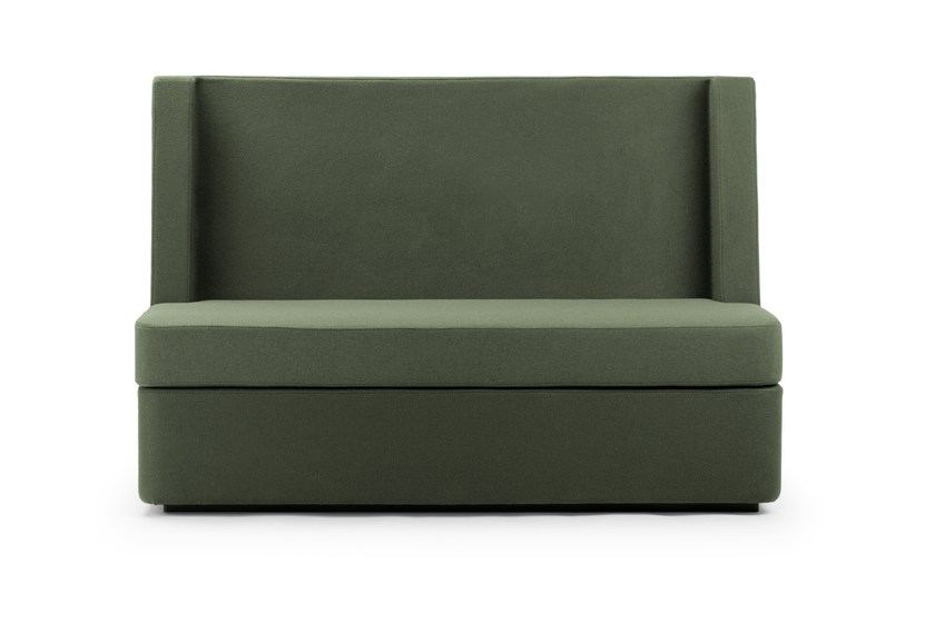 Contemporary style 2 seater sectional high-back fabric sofa NOSMOKING | High-back sofa by True Design