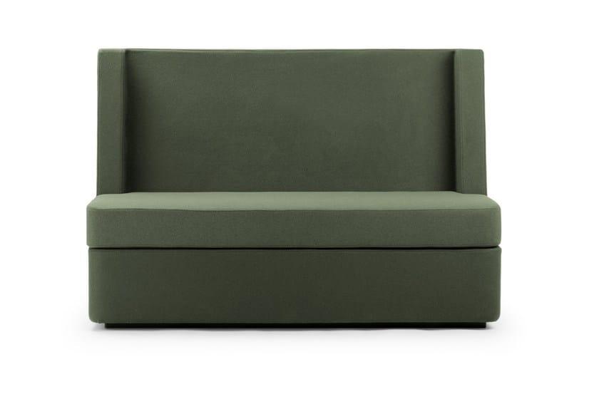 Divano componibile in tessuto in stile moderno a 2 posti con schienale alto NOSMOKING | Divano con schienale alto by True Design
