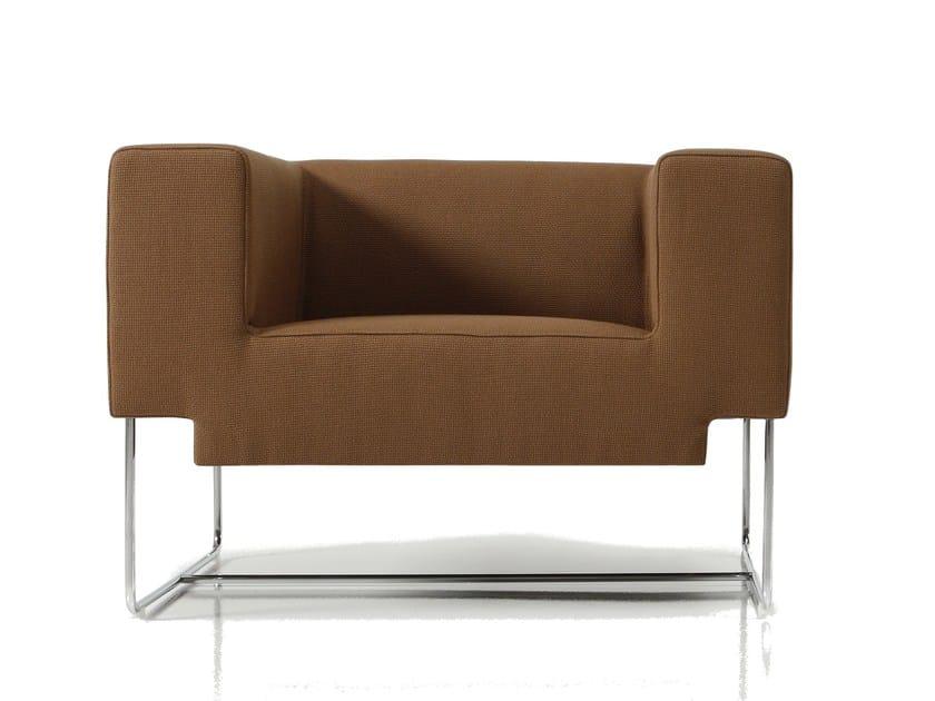 Fabric armchair NOSSO | Armchair - SANCAL