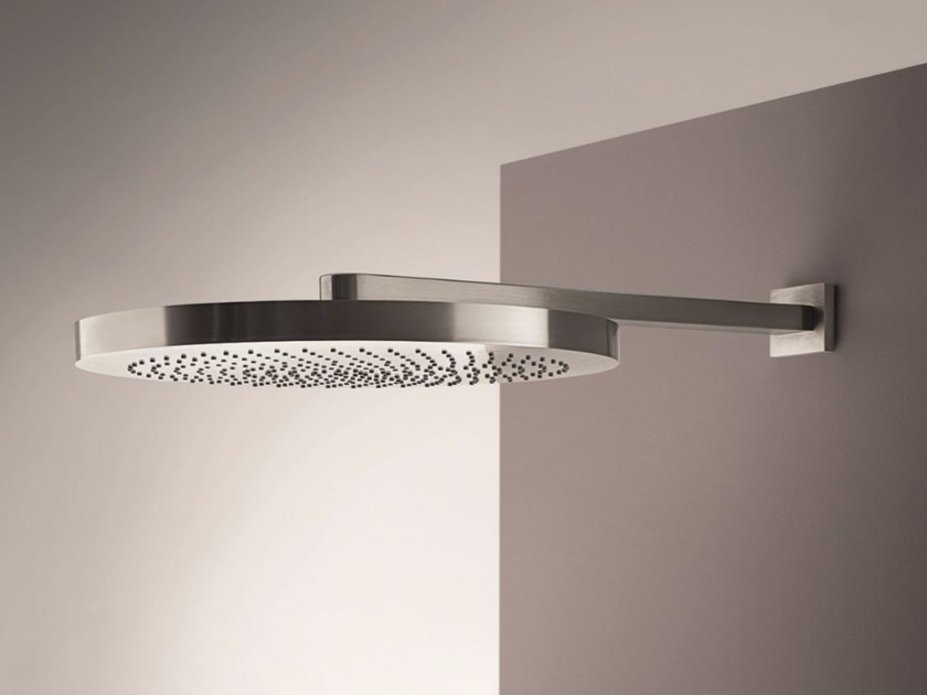 Rain shower with arm NOSTROMO - 8084 - 8081 - Fantini Rubinetti