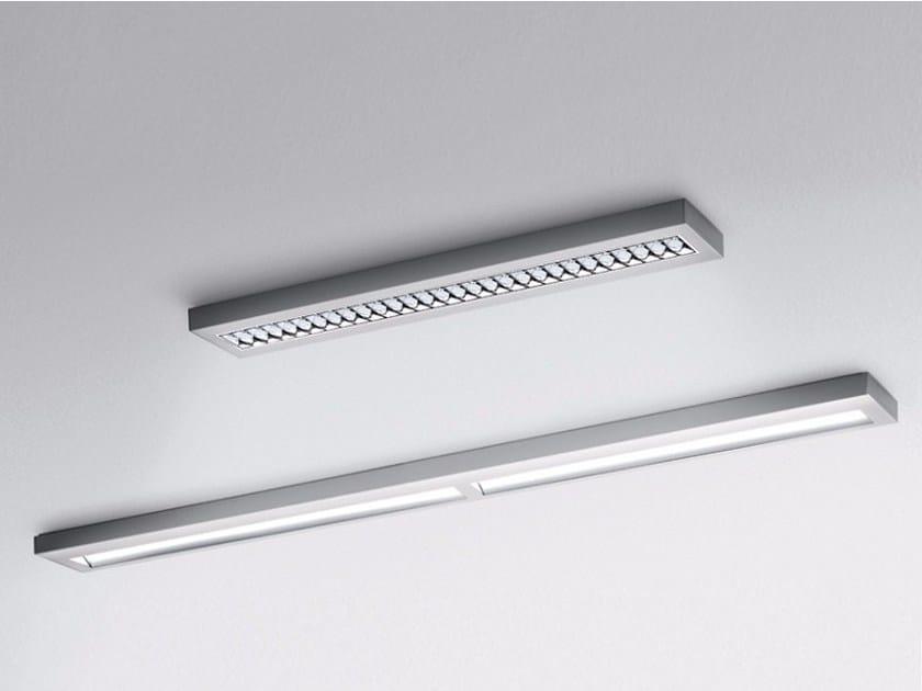 Fluorescent aluminium ceiling light NOTA BENE | Ceiling light - Artemide