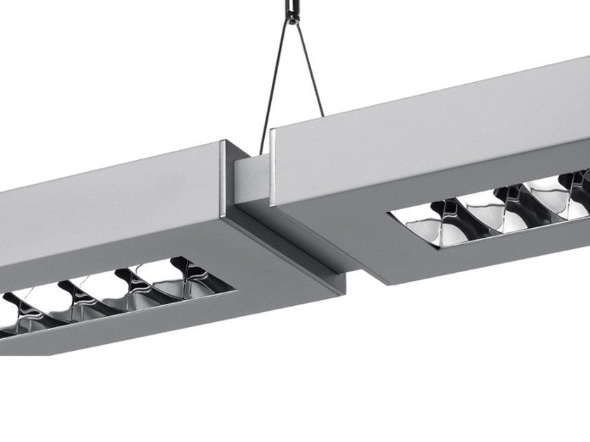 Direct-indirect light aluminium pendant lamp with dimmer NOTA BENE SYSTEM - Artemide Italia