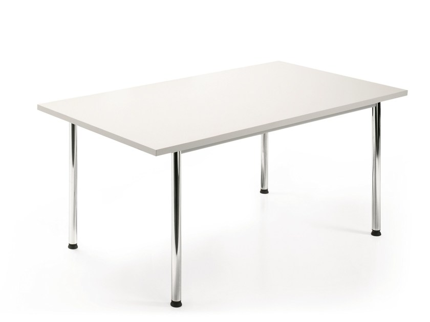 Rectangular meeting table NOTES | Meeting table by Emmegi