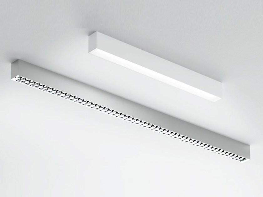 Direct light aluminium ceiling light NOTHING 86 STAND - ALONE | Ceiling light by Artemide