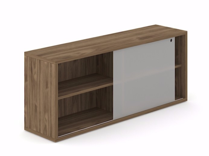Office storage unit with sliding doors NOVA | Office storage unit with sliding doors by NARBUTAS