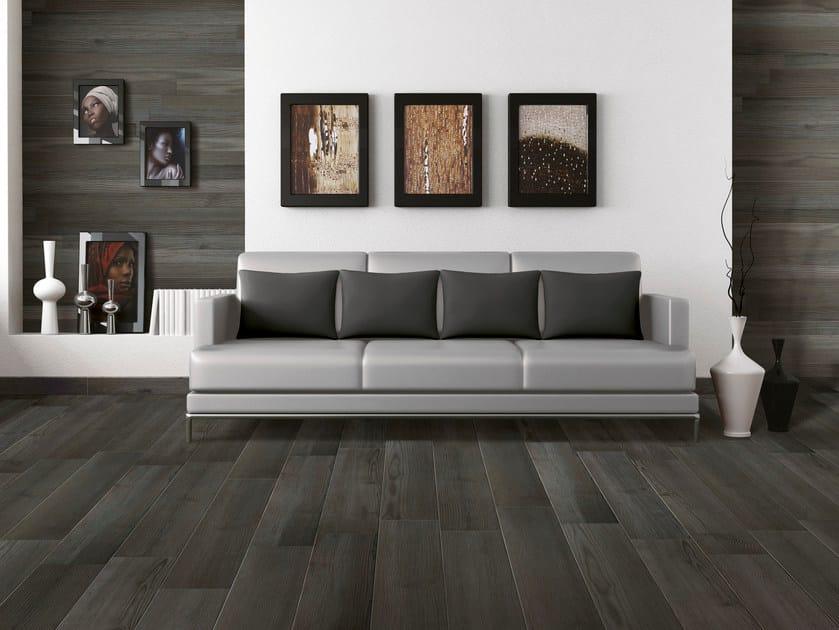 Glazed stoneware flooring with wood effect NOVA PLANCA | Flooring - Serenissima