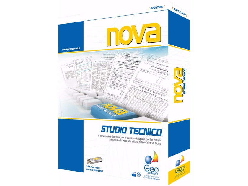 Office management, archiving NOVA STUDIO TECNICO by GEO NETWORK
