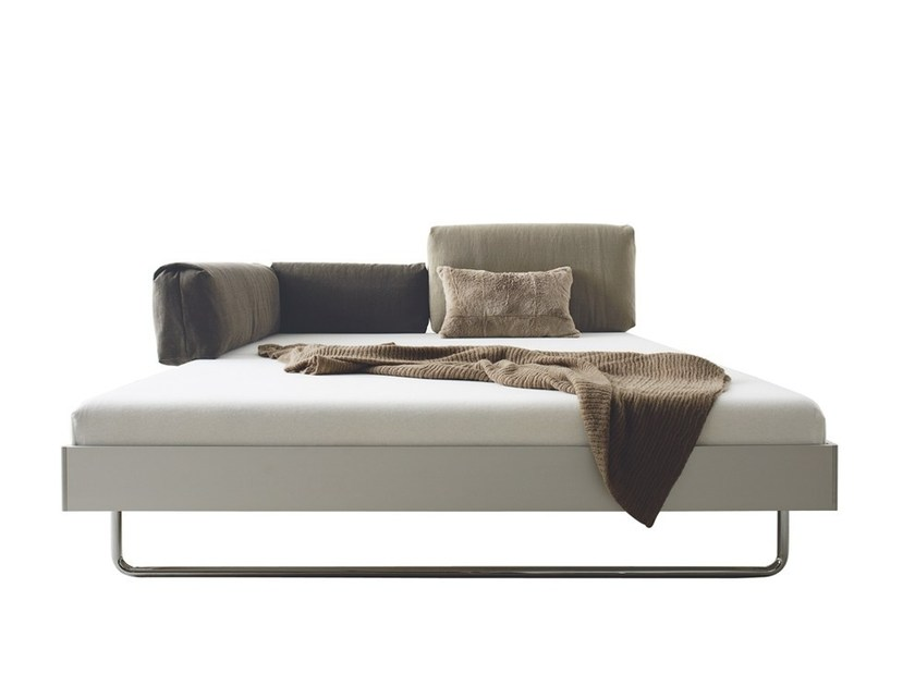 Convertible aluminium bed NOVA by more