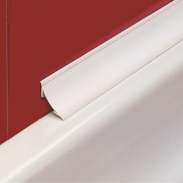 Antibacterial edge profile for walls NOVOBAÑERA® 2B PVC   Antibacterial edge profile - EMAC Italia