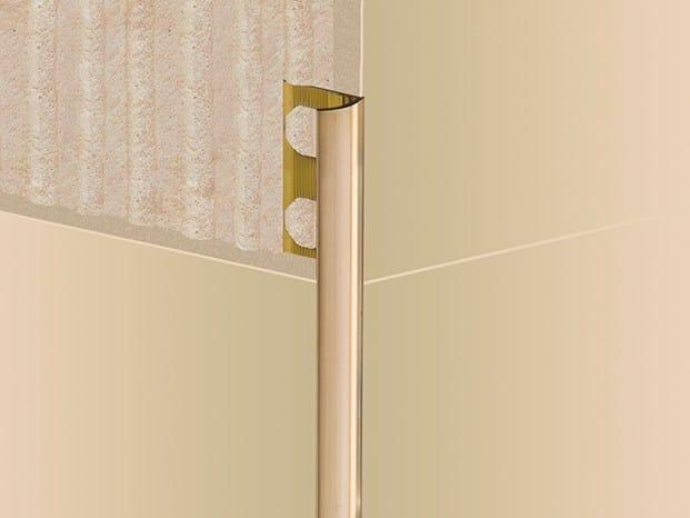 Brass Edge protector NOVOCANTO® LATÓN | Brass Edge protector - EMAC Italia
