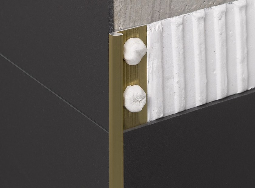 Aluminium Edge protector NOVOCANTO® SLIMM - EMAC Italia