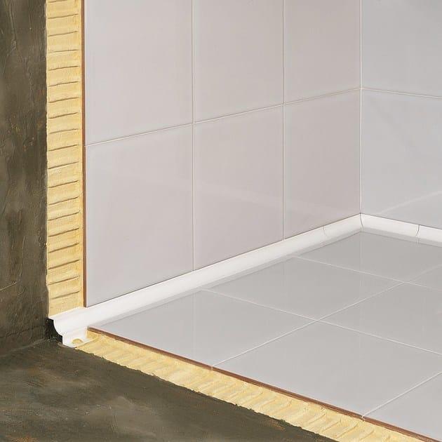 Antibacterial aluminium edge profile for floors for walls NOVOESCOCIA® 5 ALUMINUM | Aluminium edge profile - EMAC Italia