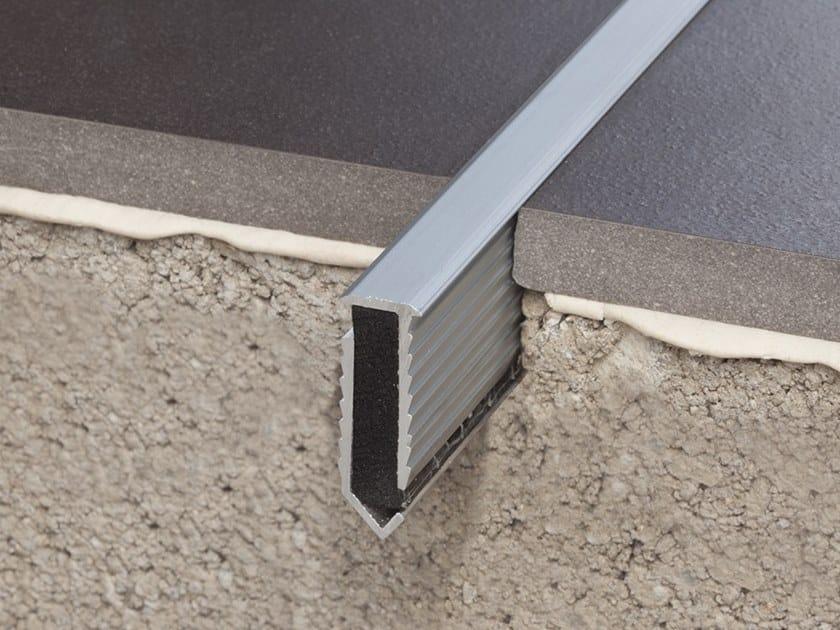 Aluminium Flooring joint NOVOJUNTA® DECOR FLECHA ALUMINUM - EMAC Italia