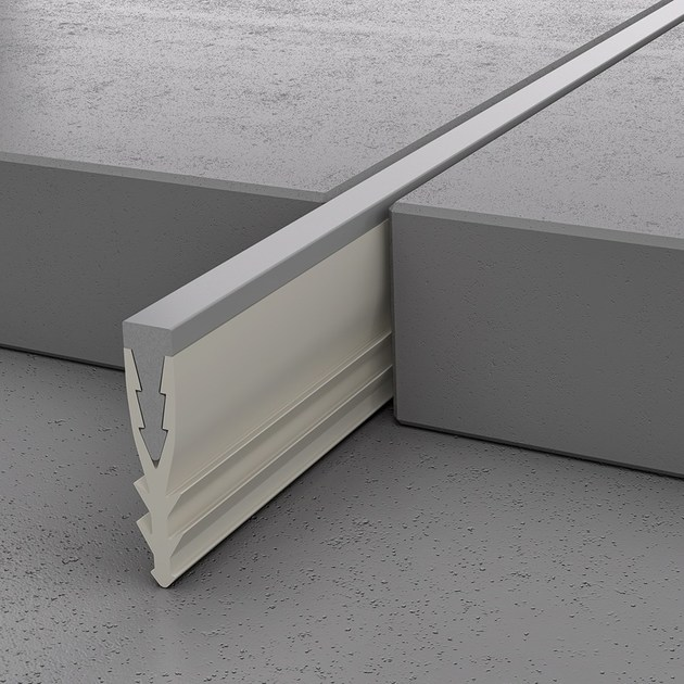 Aluminium Flooring joint NOVOSEPARA JSI | Aluminium Flooring joint - EMAC Italia