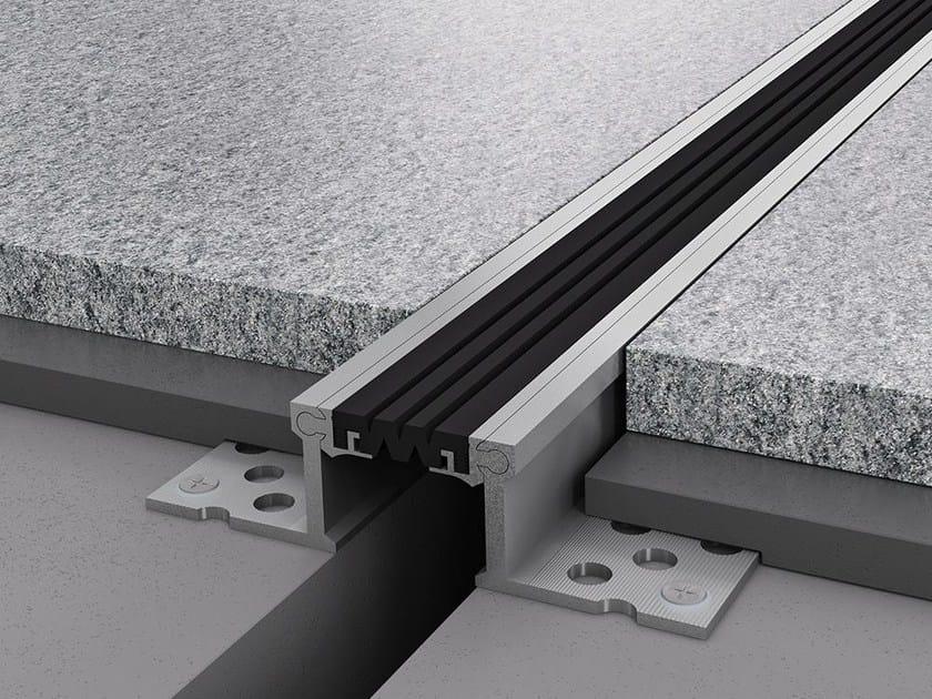 Aluminium Flooring joint NOVOJUNTA PRO® L55 - EMAC Italia