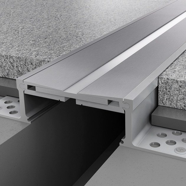 Aluminium Flooring joint NOVOJUNTA PRO® METAL SIS110 | Aluminium Flooring joint - EMAC Italia