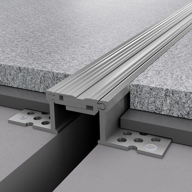 Aluminium Flooring joint NOVOJUNTA PRO® METAL50 | Aluminium Flooring joint - EMAC Italia