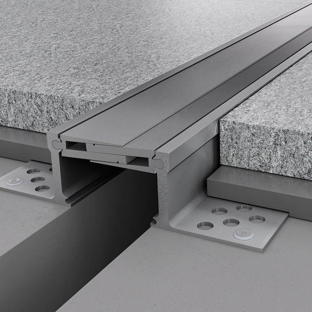 Giunto per pavimento in alluminio NOVOJUNTA PRO® METAL60 | Giunto per pavimento in alluminio - EMAC Italia