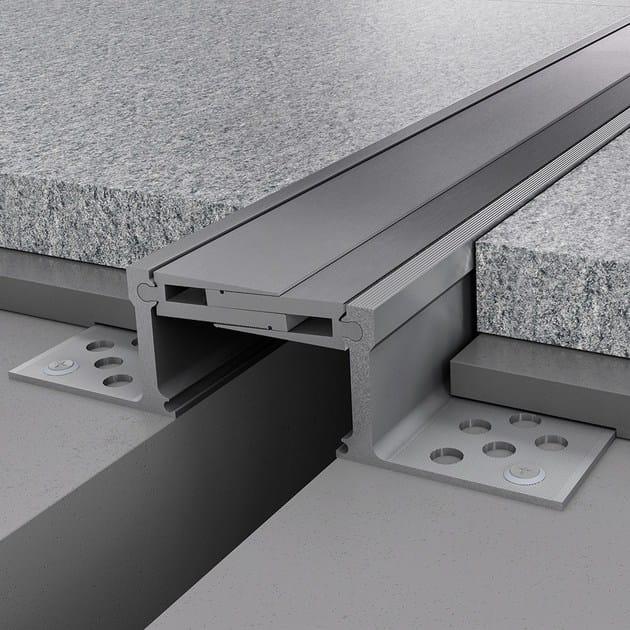 Giunto per pavimento in alluminio NOVOJUNTA PRO® METAL80 | Giunto per pavimento in alluminio - EMAC Italia