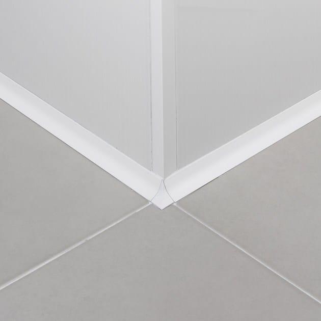 Antibacterial aluminium edge profile for walls NOVOLISTEL® 3 ANTIBACTERIAL | Aluminium edge profile - EMAC Italia
