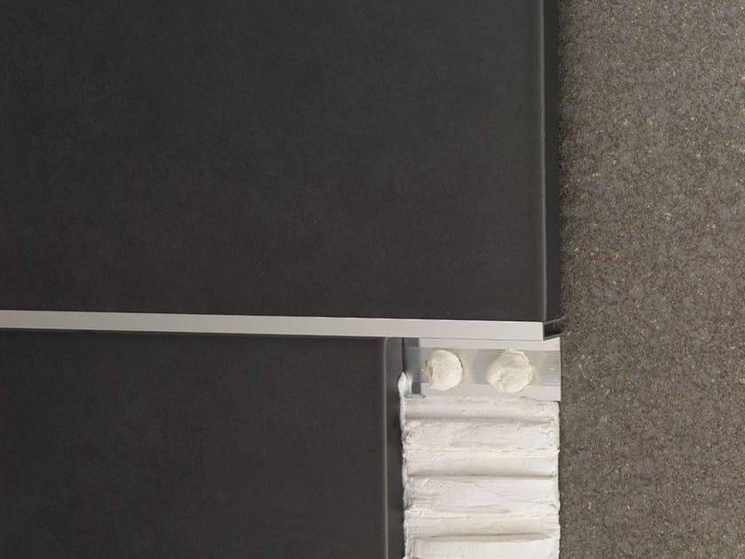 Decorative edge profile for floors for walls NOVOLISTEL® 3 XS - EMAC Italia