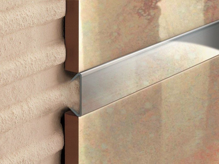 Decorative edge profile for floors for walls NOVOLISTEL® 5 - EMAC Italia