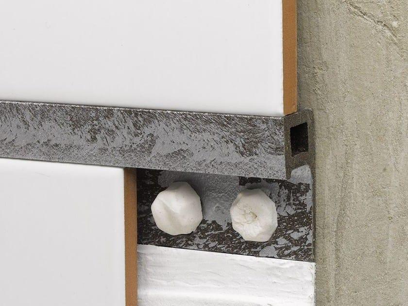 Decorative edge profile for floors for walls NOVOLISTEL® MAXIFUSION by EMAC Italia