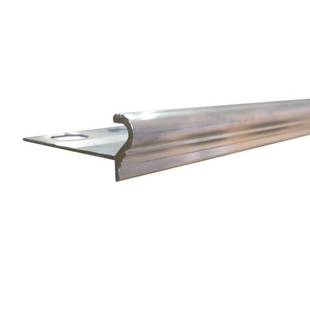 Profilo paragradino in alluminio NOVOPELDAÑO® EPOCA ALUMINUM | Profilo paragradino in alluminio - EMAC Italia