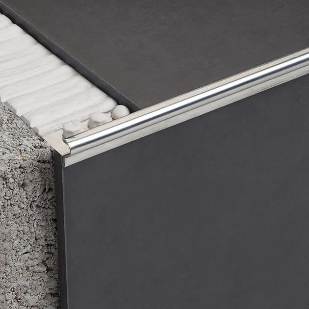 Profilo paragradino in metallo NOVOPELDAÑO® EPOCA STAINLESS STEEL | Profilo paragradino in metallo - EMAC Italia