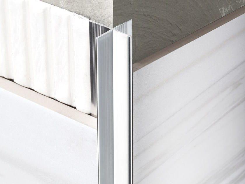Decorative aluminium edge profile NOVOPILASTRA - EMAC Italia
