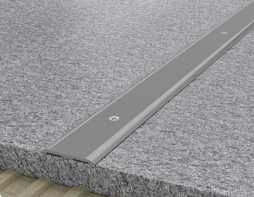 Aluminium Step nosing NOVOPLETINA® ALUMINUM - EMAC Italia