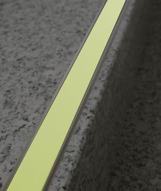 Aluminium Step nosing NOVOPLETINA® LUMINA | Aluminium Step nosing by EMAC Italia