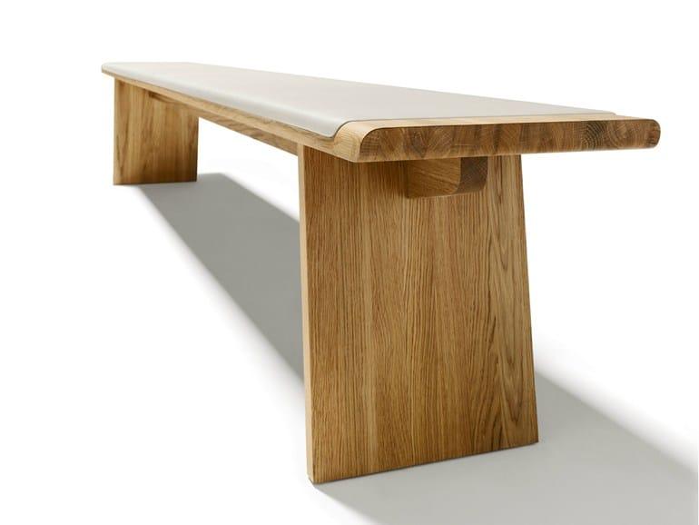 Solid wood bench NOX | Bench - TEAM 7 Natürlich Wohnen