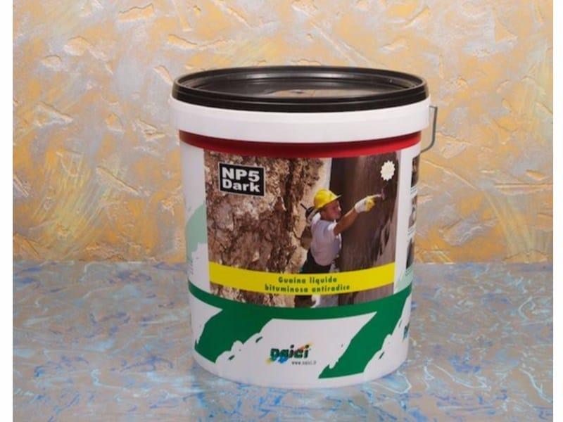 Guaina liquida impermeabilizzante bituminosa NP5 DARK - NAICI ITALIA