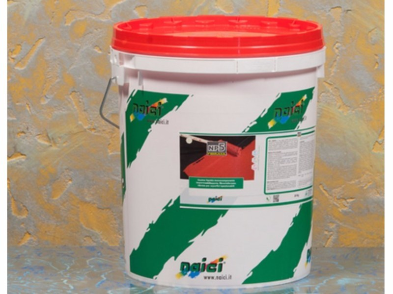 Liquid waterproofing membrane NP5 FIBRATA - NAICI ITALIA